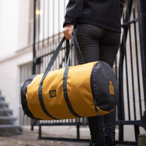 gym duffle bag curry