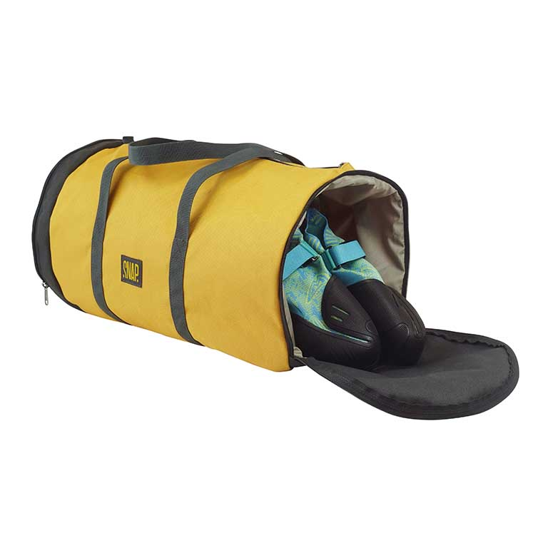 snapclimbing_bagagerie_gym_duffle_curry_ouvert