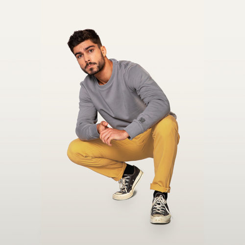 chino curry pour homme