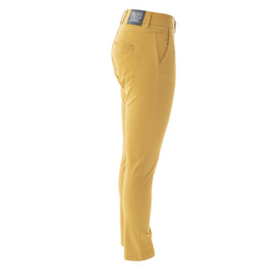 pantalon chino curry vu de profil