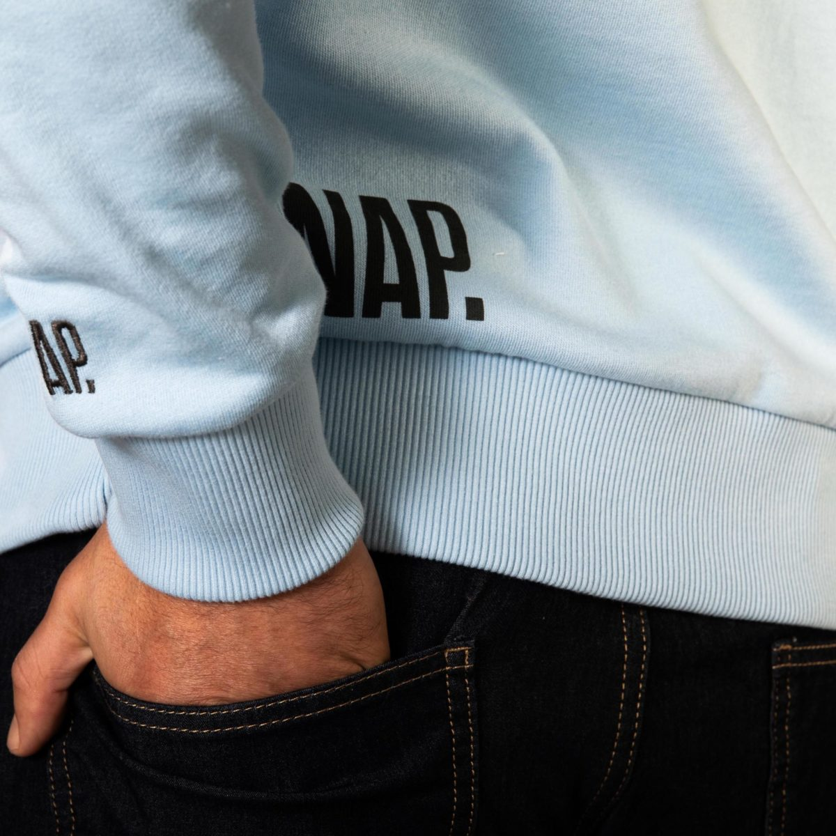 sweat col rond pour homme