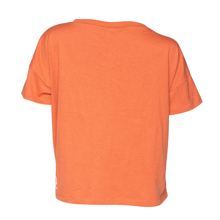 t-shirt hemp orange sport